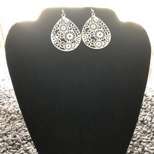 Floral Almond Earrings
